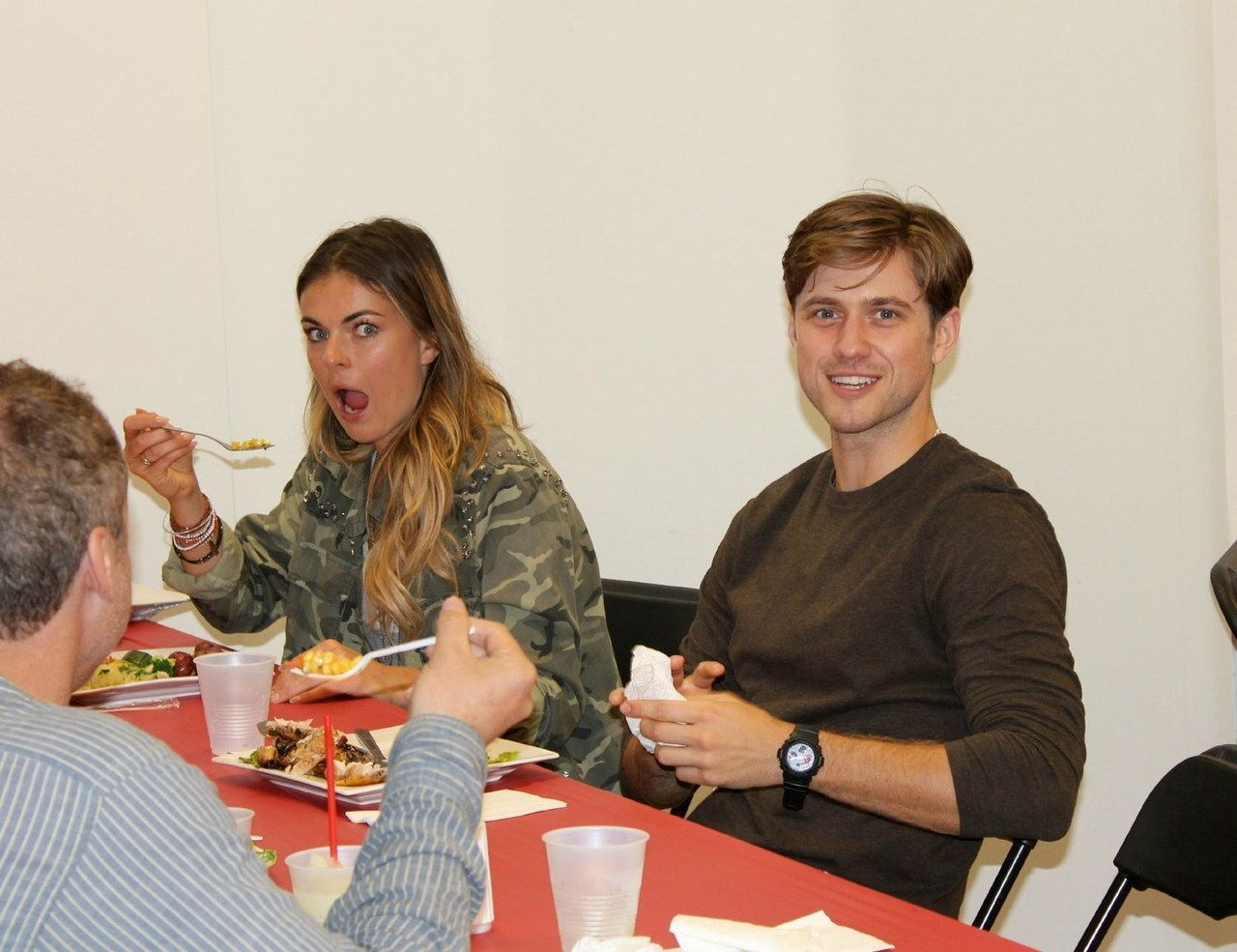 hora de comer table read