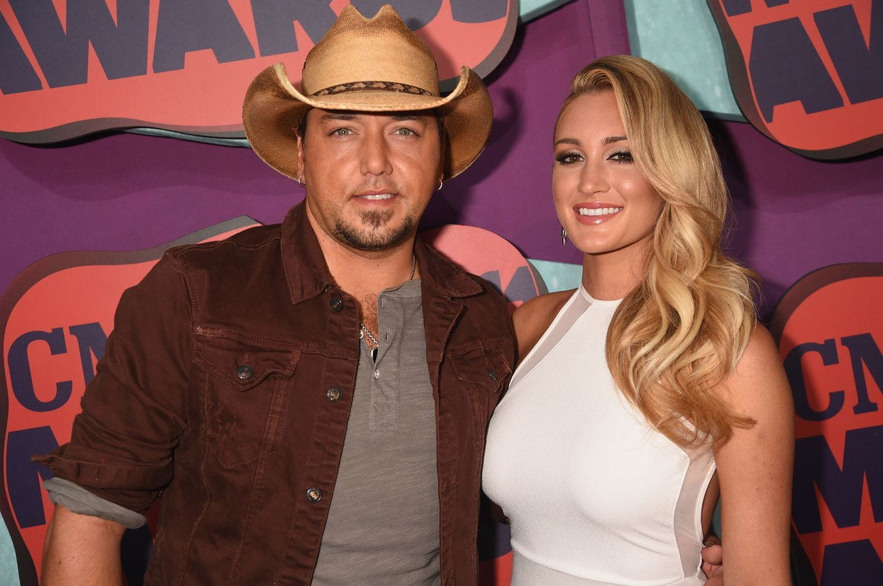 Jason aldean brittany kerr married wedding pictures 0322 getty