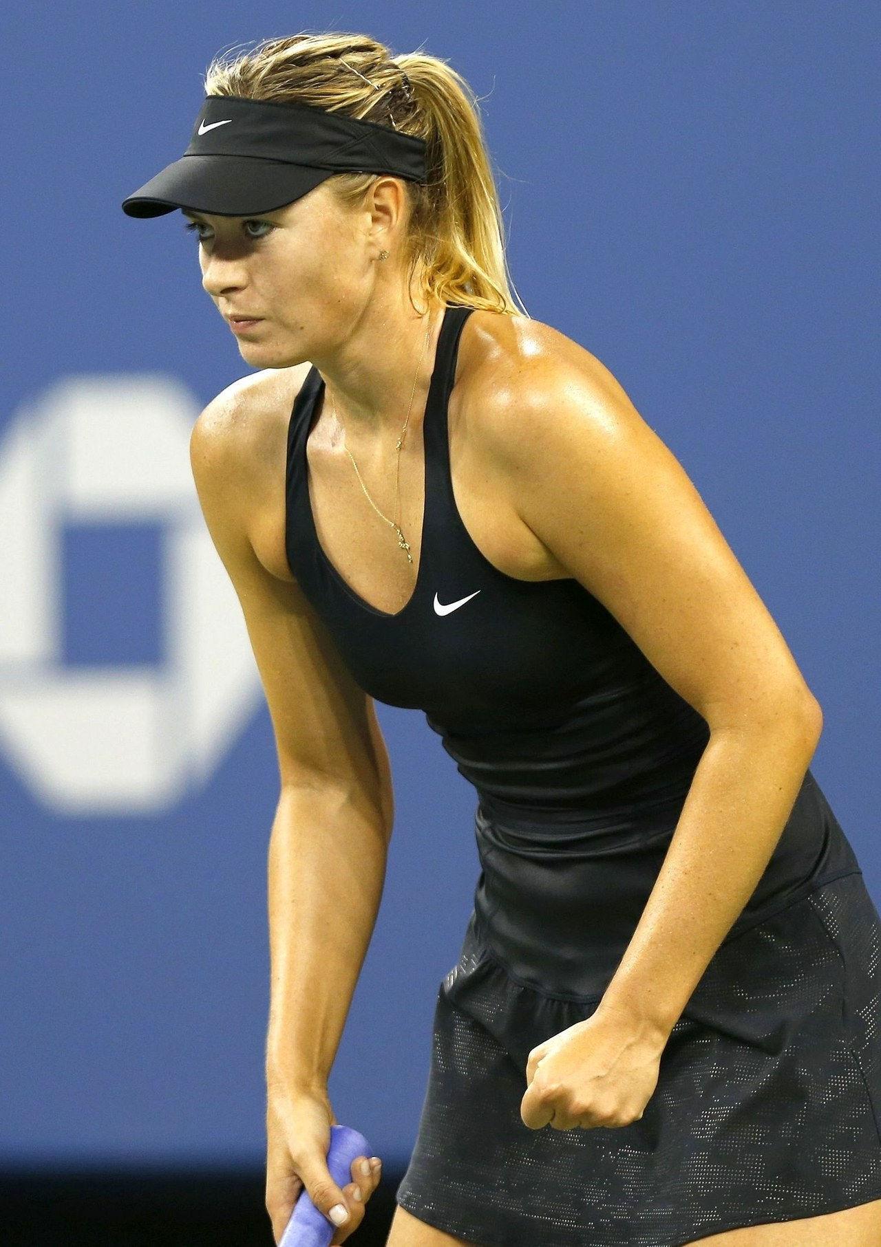 sharapova tennis dress