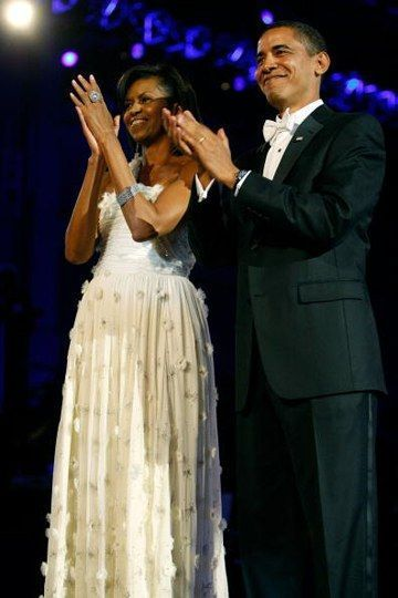 0120 2 michelle obama jason wu inauguration ball gown dress fa