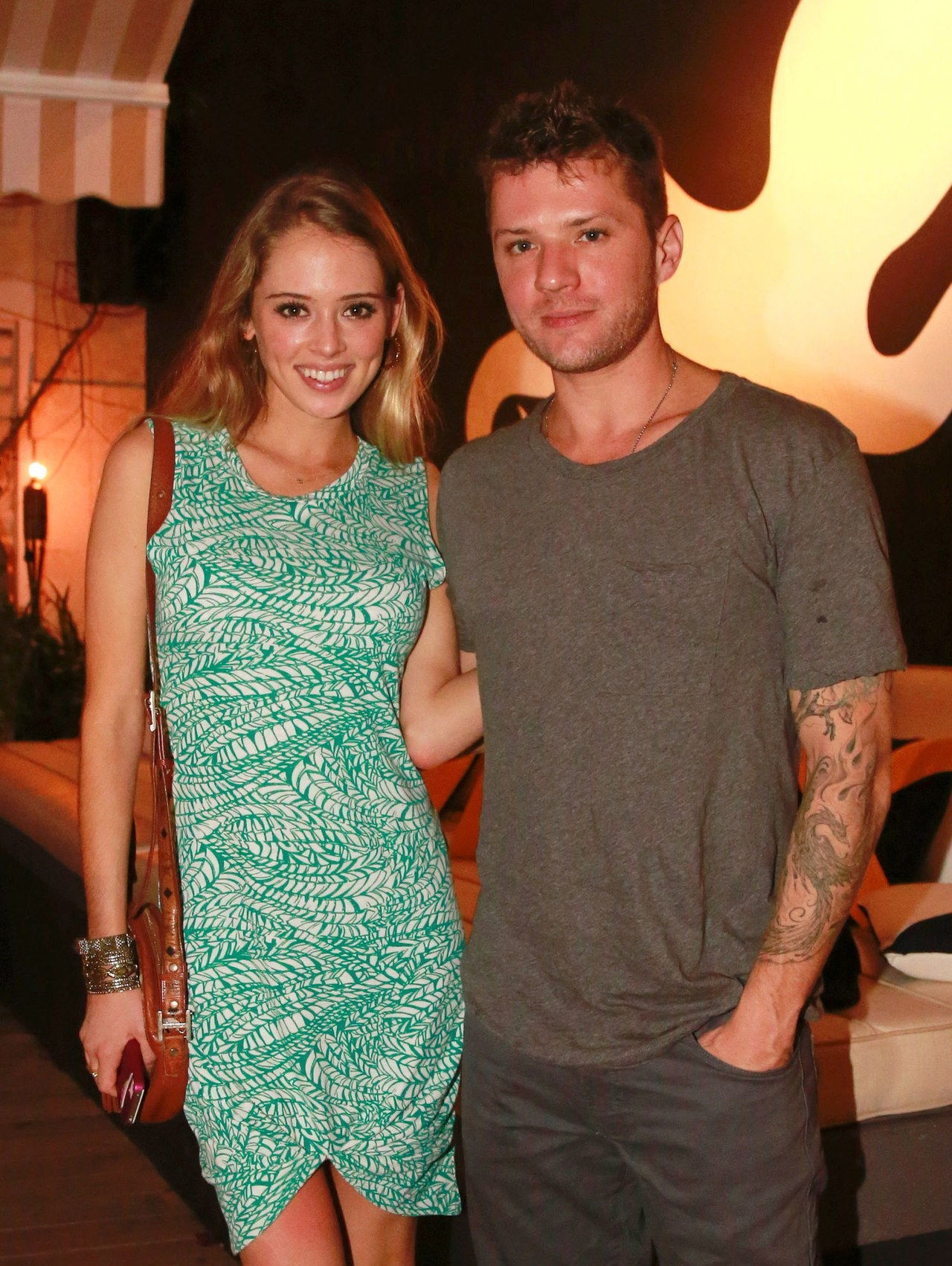 ryan phillippe paulina slagter engaged engagement ring celebrity weddings 1228 getty