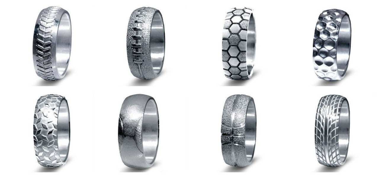 1 sports themed wedding rings for men 1029