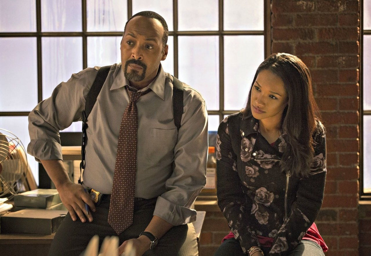 Jesse l martin candice patton the flash