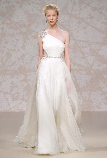 1119 jenny packham one shoulder wedding dresses