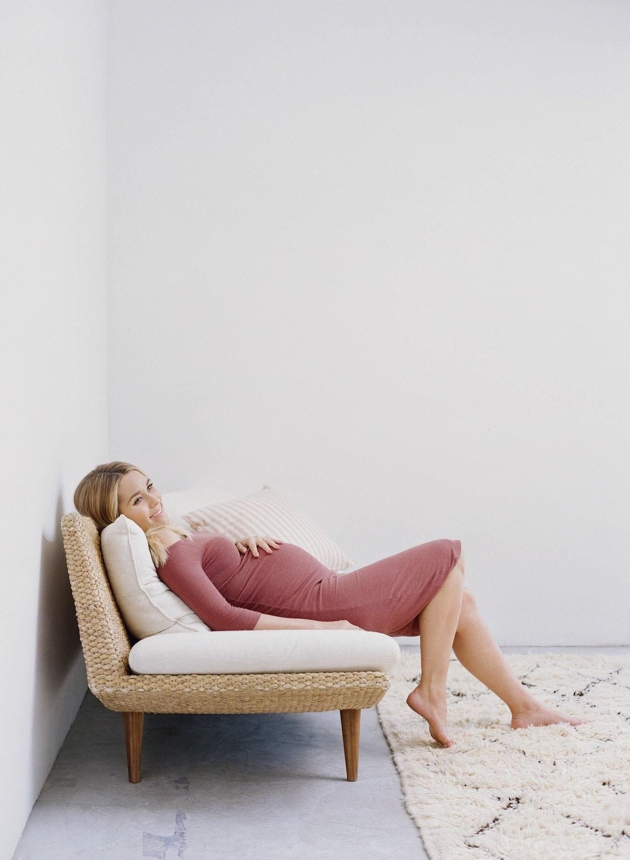 52fee065f Ahora puede copiar el estilo de maternidad de Lauren Conrad